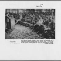 """1971-02-11 Daily Iowan Photo: """"""""Teach-in"""""""""""