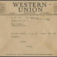 1943-01-14 Telegram