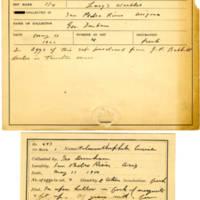 Thomas Wilmer Dewing, egg card # 518