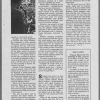 """1970-06 Iowa Alumni Review """"""""At the U of I and over the nation May was a time of Student Protest"""""""" Page 4"""