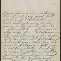 1917-10-16 Harvey Wertz to Miss Dorothy Wertz Page 3