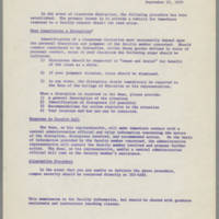 1970-09-23 College of Education -- Classroom Disruptions