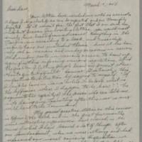 1945-03-19 Lt. Gifford Morrison to Dave Elder Page 1