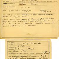 Thomas Wilmer Dewing, egg card # 747u