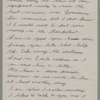1943-01-20 Lloyd Davis to Laura Davis Page 1