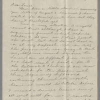 1942-08-15 Bessie Hutchison to Laura Davis Page 1