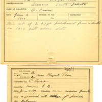Thomas Wilmer Dewing, egg card # 051