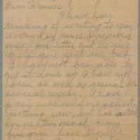 1945-05-20 Laura Hutchison to Laura Frances Davis Page 1