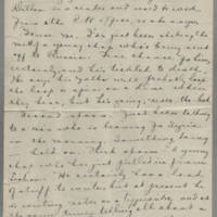 1919-05-31 Daphne Reynolds to Mary Goodenough Page 4