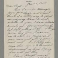 1944-01-25 Ray Steele to Lloyd Davis Page 1