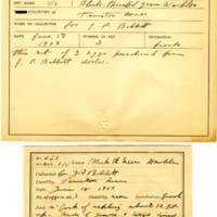 Thomas Wilmer Dewing, egg card # 535