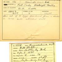 Thomas Wilmer Dewing, egg card # 249