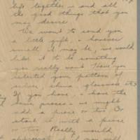 1942-01-12 Freda Crippen to Laura Frances Davis Page 2