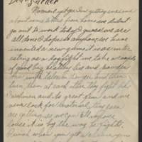 1918-01-15 Harvey Wertz to Mr. L.A. Wertz Page 1