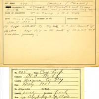 Thomas Wilmer Dewing, egg card # 681u