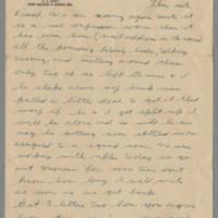 1942-10-30 Lloyd Davis to Laura Davis Page 1
