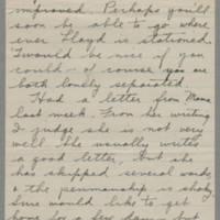 1942-07-26 Freda Crippen to Laura Frances Davis Page 2