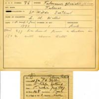 Thomas Wilmer Dewing, egg card # 637u