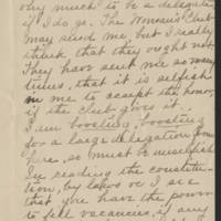 Cora C. to Mrs. Francis E. Whitley Page 2