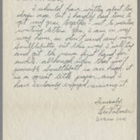 1945-09-20 Leo Palmer to Mr. Dave Elder