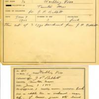 Thomas Wilmer Dewing, egg card # 766u