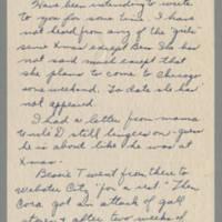 1945-03-06 Susie Hutchison to Laura Frances Davis Page 1