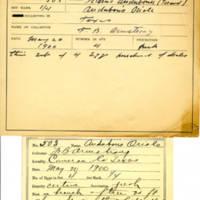Thomas Wilmer Dewing, egg card # 712u