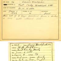Thomas Wilmer Dewing, egg card # 297