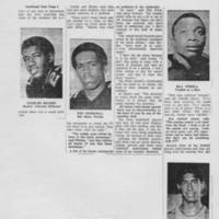"1968-12-17 Daily Iowan Article: ""UI's Black Athletes -- Some Happy Here, Others Not"" Page 4"