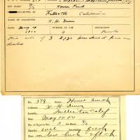 Thomas Wilmer Dewing, egg card # 716u