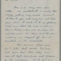 1945-09-23 R.J. Rohrer to Dave Elder Page 1