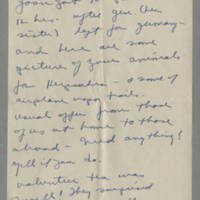 1945-05-05 Joyce Gale to Helen Fox Page 2
