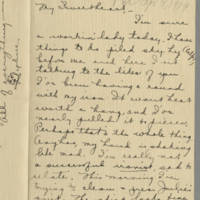 Conger Reynolds correspondence, April-December 1919