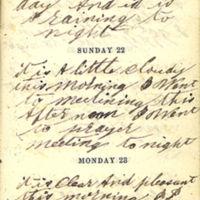 1863-11-21 -- 1863-11-23