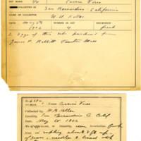 Thomas Wilmer Dewing, egg card # 508
