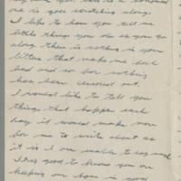 1943-10-10 Lloyd Davis to Laura Davis Page 2