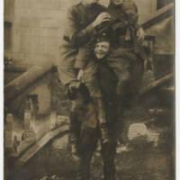1920-02-29 Postcard: Robert M. Browning to Mrs. Eli Browning