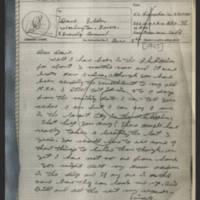 1945-06-05 Keith L. Hunsaker, Sr. to Dave Elder