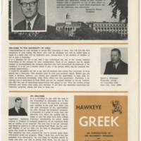 Welcome from President Howard R. Bowen Page 1