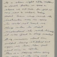 1942-09-22 Lloyd Davis to Laura Davis Page 1