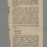 """1970-05-13 Des Moines Register Article: """"Back Study of Kent Deaths"""" Back"""