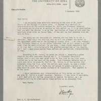 1970-11-05 Willard L. Boyd to Dean D.C. Spriestersbach