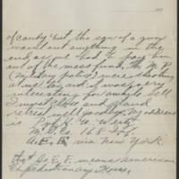 1917-10-16 Harvey Wertz to Miss Dorothy Wertz Page 4