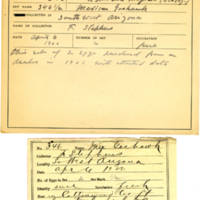 Thomas Wilmer Dewing, egg card # 231