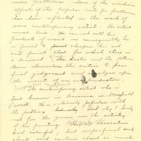 """Realistic representation"" essay by Eve Drewelowe, 1924"
