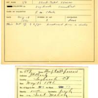 Thomas Wilmer Dewing, egg card # 436