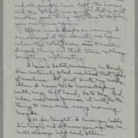 1943-03-04 Laura Davis to Lloyd Davis Page 3