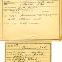 Thomas Wilmer Dewing, egg card # 103