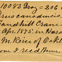 Clinton Mellen Jones, egg card # 167