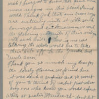 1918-08-18 Emily Reynolds to Conger Reynolds Page 2